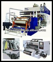 stretch PVC PE 2layer stretch blow moulding machine blowing polyethylene ing film extrusion machine