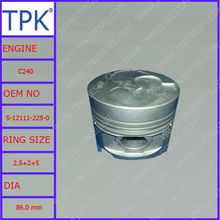 Isuzu C240 piston set, 5-12111-225-0 5-12111-225-1 8-97176-584-0