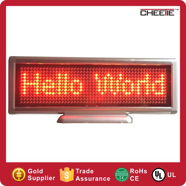Hot Wifi Electronic USB Charging Message Screen Small Red Led Display Indoor
