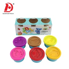 HUADA 2019 Hot Sale Children's Creativity DIY Play Set toys 5D Colorful Playdough Clay Toy