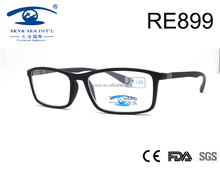 2017fashionable classical black PC reading glasses for wholesale