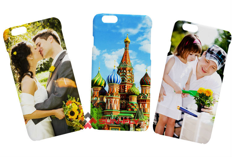 3D sublimation transfer film cell phone cover case for iphone 6 4.7''