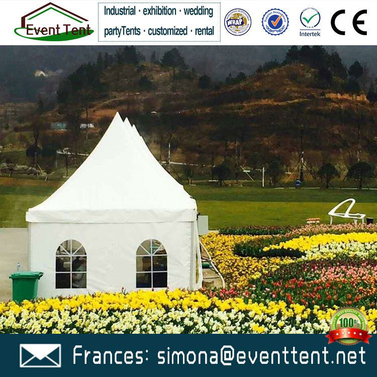 pagoda garden tent gazebo party tent for flower show exhibition