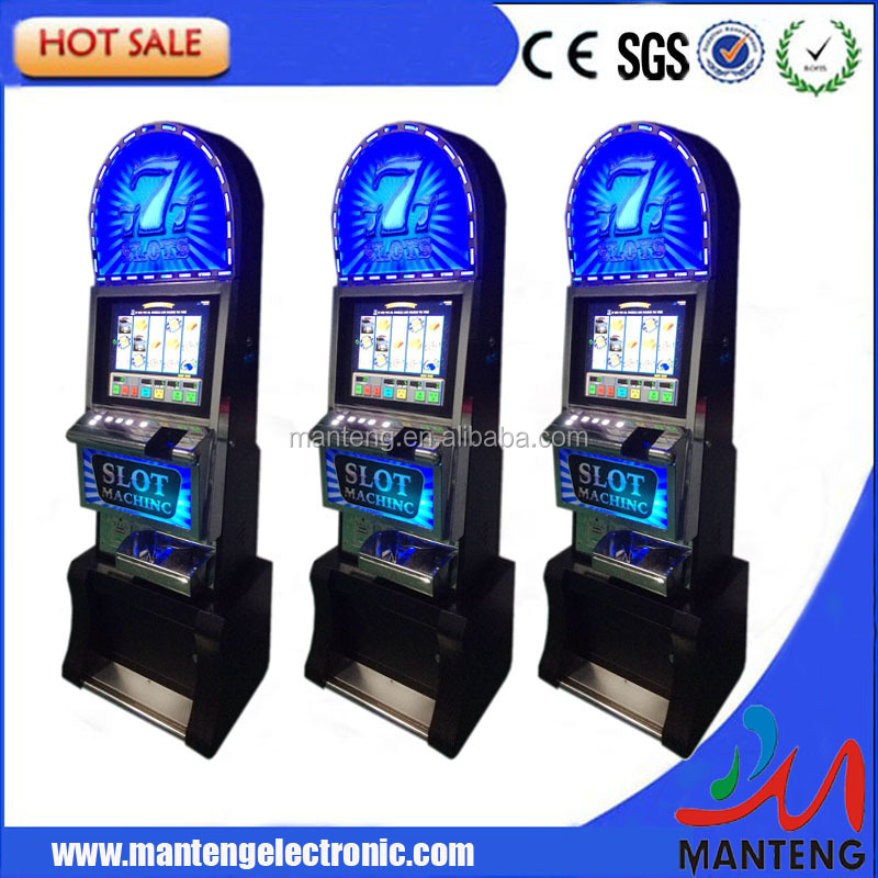 WMS 550 Slot Game Machine With ICT Bill Validator and Coin Acceptor