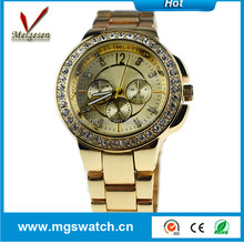 hot sell designs creative three time luxury zone watch for men