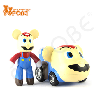 Car Toy Home Decoration PVC Plastic Kid Toy