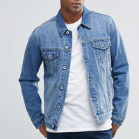 Fashion Design Mens Denim Jacket Wholesale