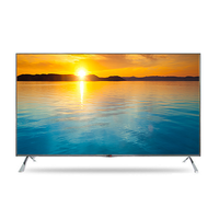 wholesale cheap advertising display 47 50 55 60 65 inch led tv samsung l g panel 60Hz 120Hz wifi hdtv with USB dvb-t2