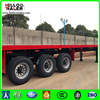China Supplier Direct Factory 40ft Flatbed