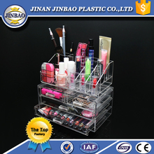 JINBAO hot new products for 2017 4 6 drawer acrylic makeup organizer