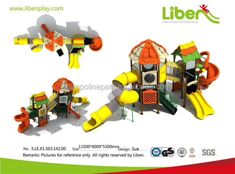 Liben OEM&ODM commercial playground used children outdoor equipment