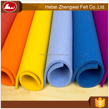 China wool felt polyester felt