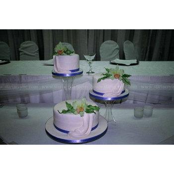 Lucite Cake Holder