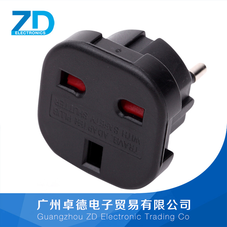 US 2 pin power adapter europe to UK