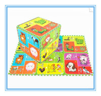 Multi-function puzzle/The baby crawled mat/Cartoon picture puzzle mat