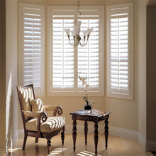 white color Australia outdoor basswood plantation shutter furniture