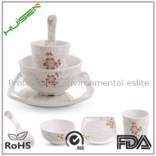 wholesale home good top choice used chinese restaurant melamine dinnerware set