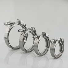 304 stainless steel standard and quick release turbo V band clamp