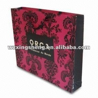 Big order wholesale 2013 paper shopping bag changsha jinding high quality fashion gift Christmas Day