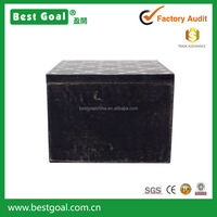 black antique square wooden samll custom gift box