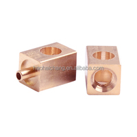 Custom-made lathe high precision copper welding stud