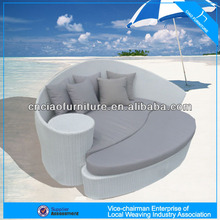 Rattan Sun Lounge outdoor Daybed sofa bed