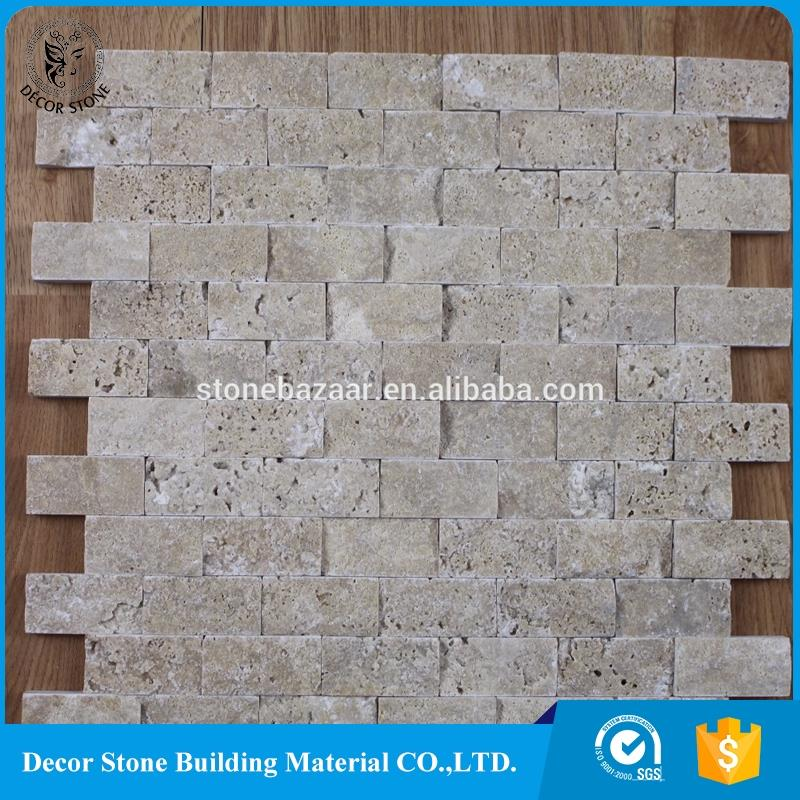 split faced travertine stones