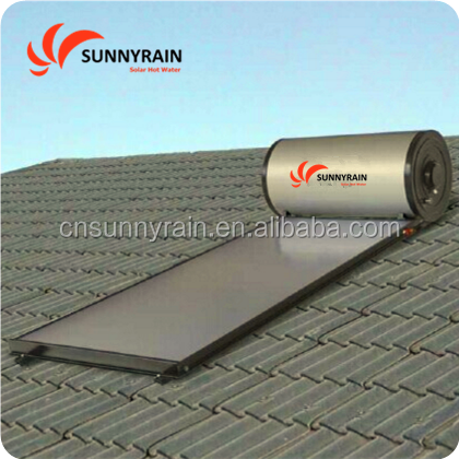SUNNYRAIN Compact Flat Panel solar hot water heating system