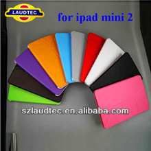 For Mini2 Case/for ipad mini2 Leather Case/ stand case cover for ipad mini 2