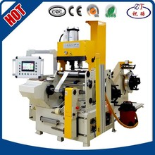 Best price cold solder foil winding machine BRJ300-2 coil winding machine