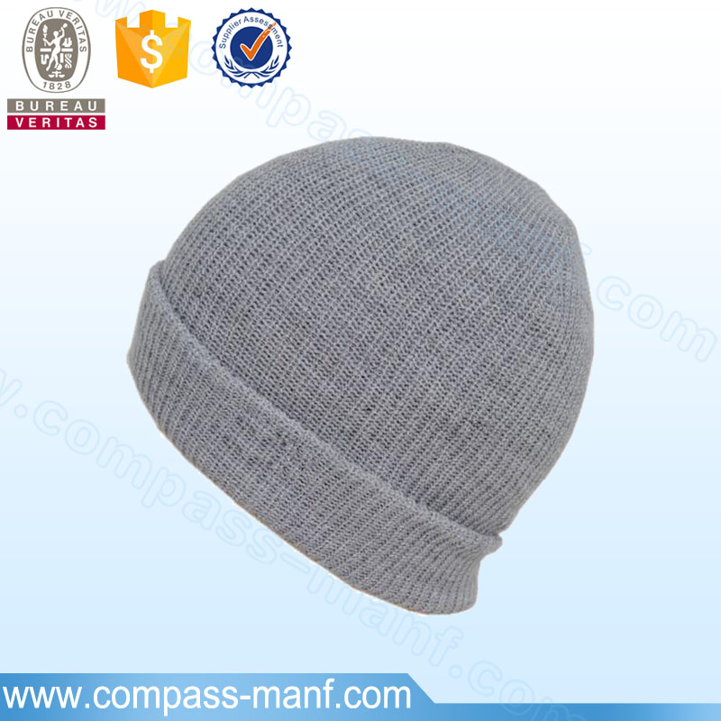 mens winter customized colors outdoor sports knitted boonie hats