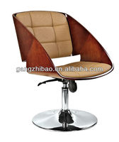 wholesaling wooden swivel chairs for bars
