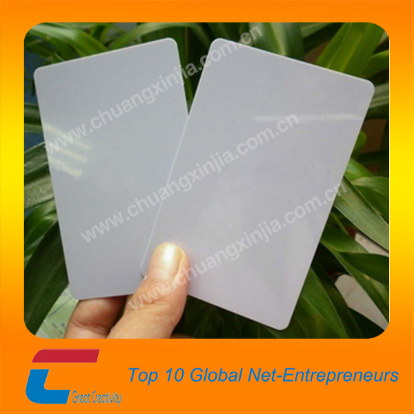 CR80 30Mil White PVC Plastic Credit, Gift, Photo ID Cards