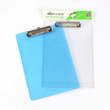 file decoration a4 plastic clear file folder clipboard with school file