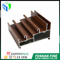 China supplier high corrosion-resistance aluminum window screen frame parts