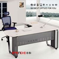 Melamine table, ofice table, l shape office computer table design