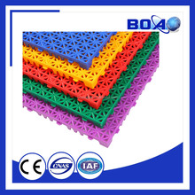 Outdoor Interlocking Badminton Court Flooring