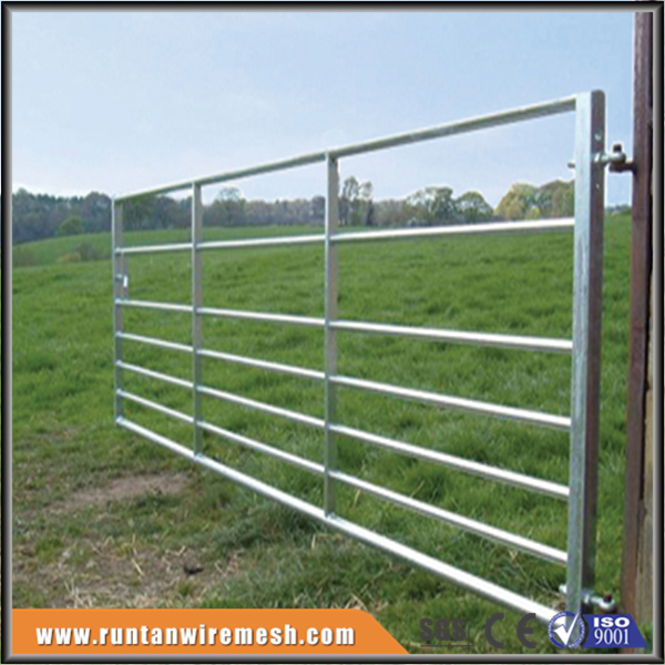 Hot sale galvanized metal farm gates (Factory,ISO9001)