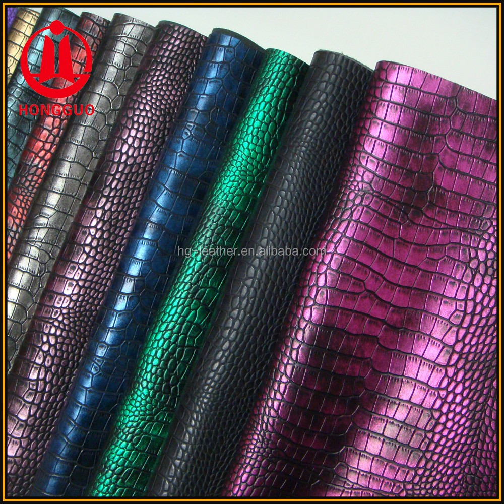 Bag Material,Crocodile Pu Leather For Bag Making Material