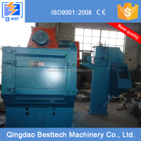 Q326C crawler type shot blasting machine,industrial auto spare parts cleaning machine, sand blasting machine
