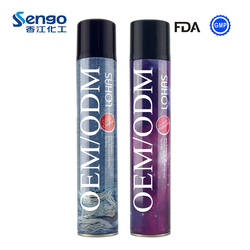 China Supplier Private Label Pomade Hair Spray Strong Hold Hair Spray OEM Hair styling Spray