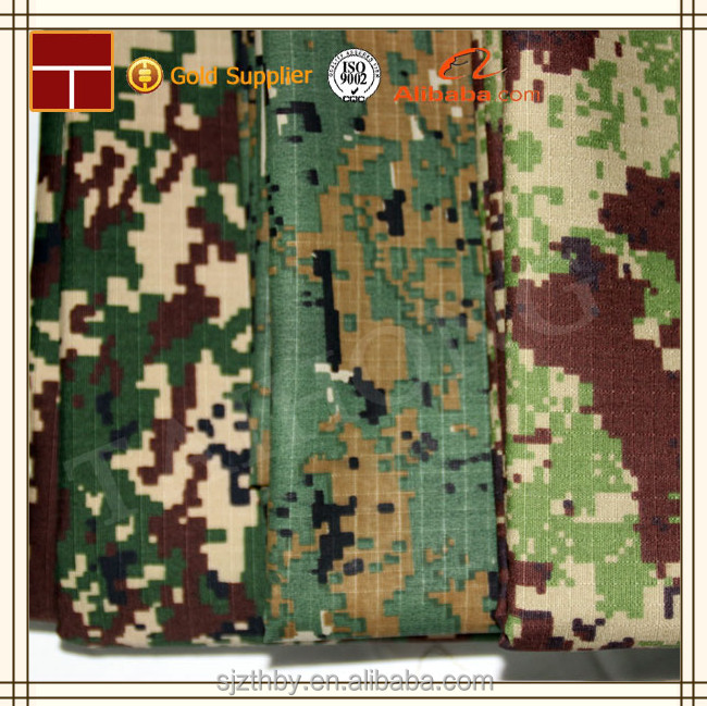 made in china high quality 1000D camo nylon cordura military camouflage fabric for bags