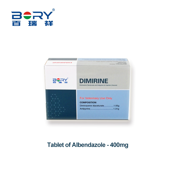 Diminazene Diaceturate and Antipyrine for Injection