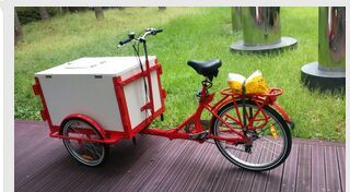 Ice cream cargo bike bicycle for sale tricycle cargo bike/cargobike/cargo tricycle bikes UB9005B