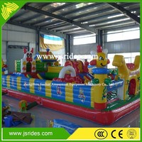 PVC material inflatable jumping bouncy castle for sale