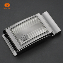 High quality 40mm cheap custom zinc alloy flip-top belt buckles for Italian belt