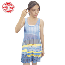 Ladies Sexy Fashion Hollowed-out Colorful Knitting Pullover Sleeveless Nice Dress Shirt Knitted Women Sweater