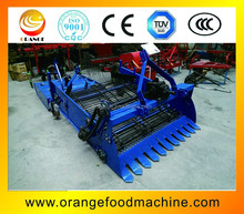 Two row spread sweet potato harvest machine