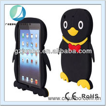 Rubber Penguin silicone soft Back Case Cover for Apple iPad mini