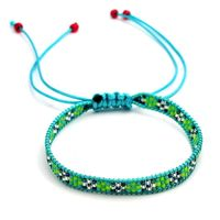 Japanese seed bead bracelet national style pure manual woven bead bracelet wholesale